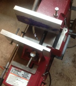 Cut Off Saw Jaw Upgrade for Small Parts