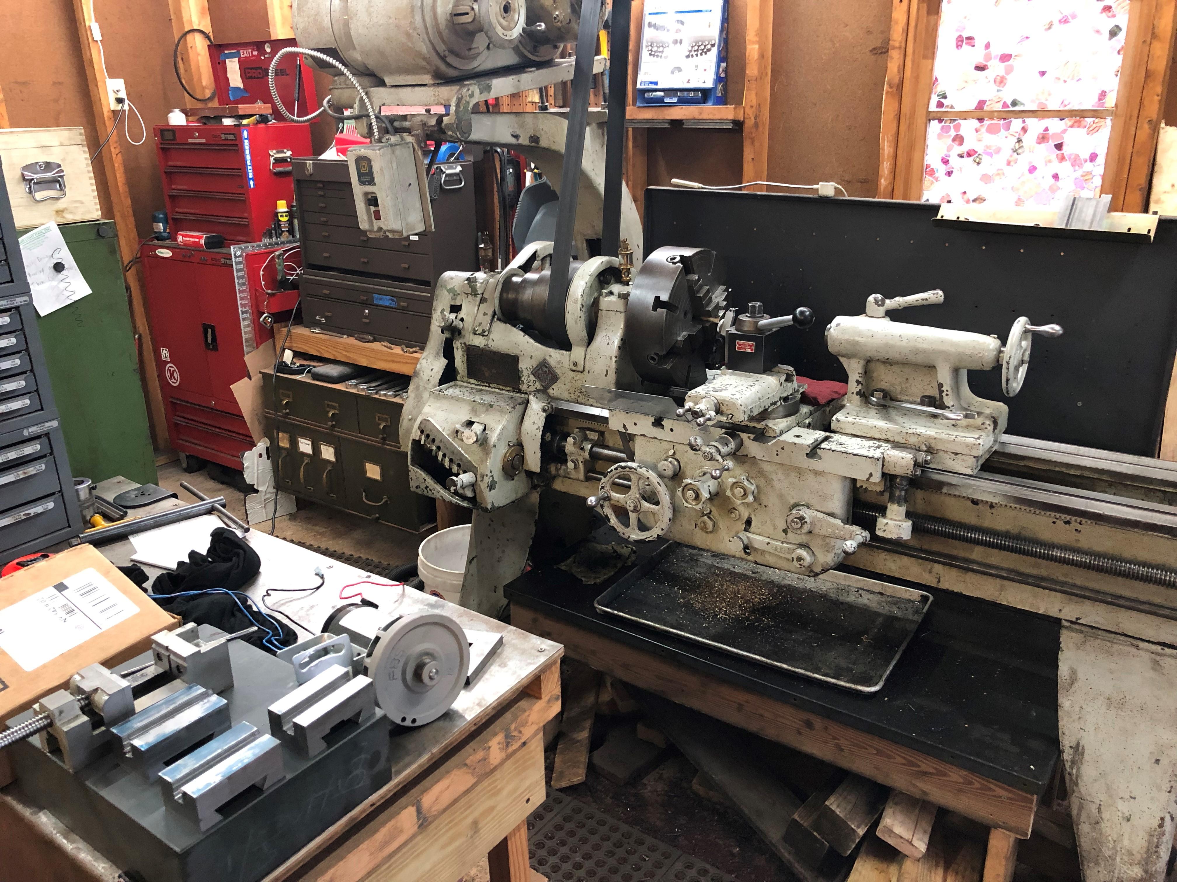 Rebuilding a Monarch Lathe Pt 2 Tailstock
