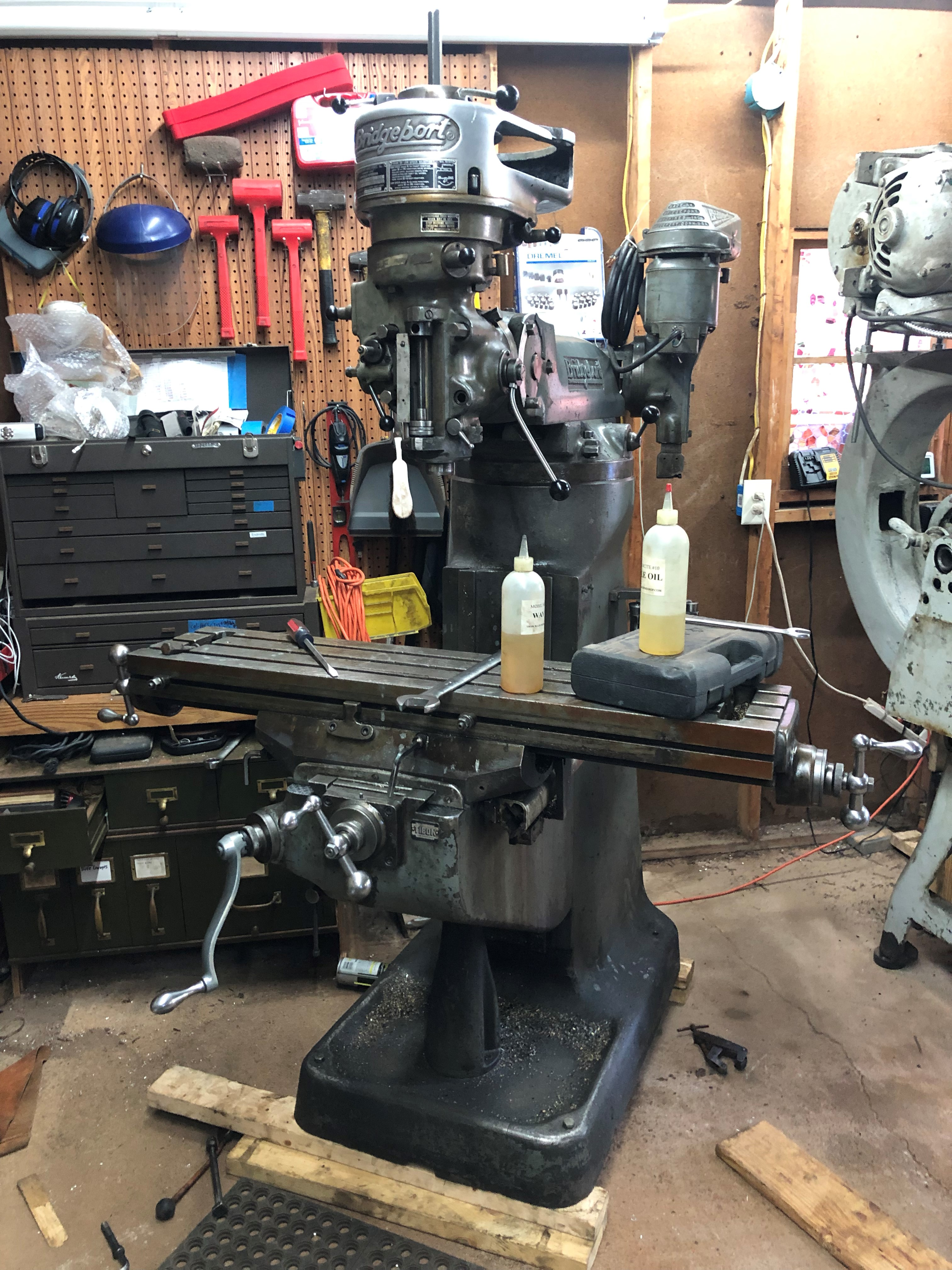 New Machine, V Ram Bridgeport Milling Machine